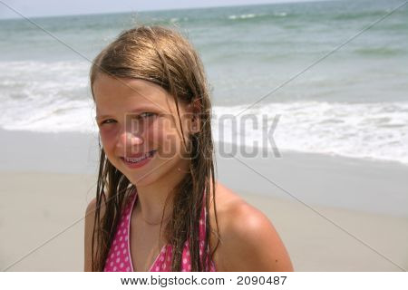 Tween At The Beach