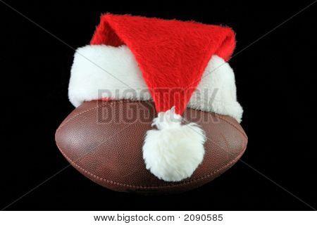 Santa Hat On Black