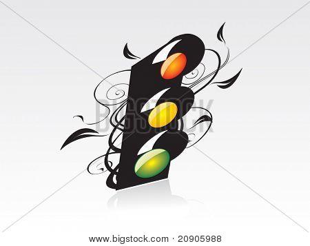 Traffic Road Light