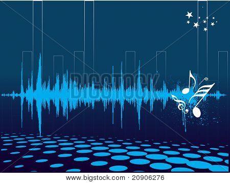 Vector ilustración musical antecedentes
