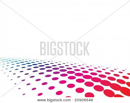 halftone multicolor background vector illustration