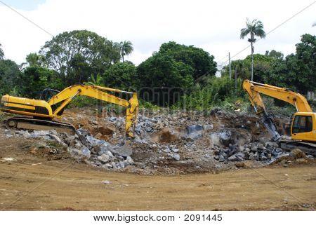 den Boden graben