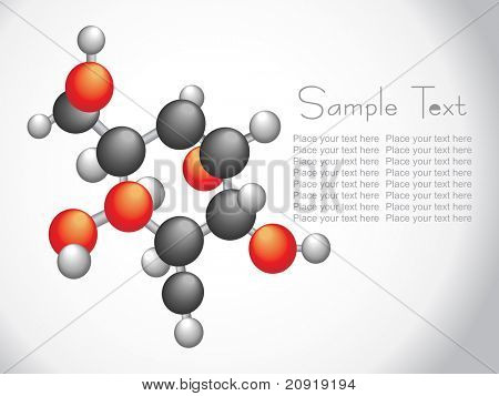 vector wallpaper, group of molecule