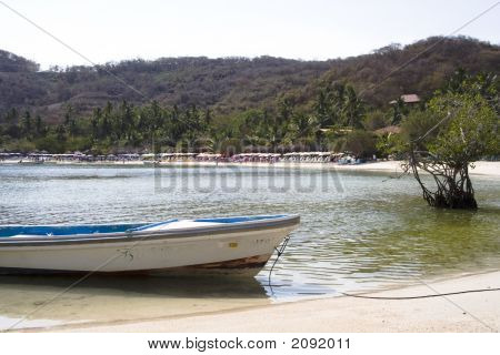 Boat On Los Gatos Beach