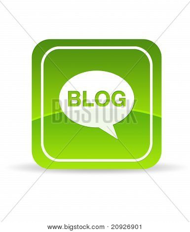 Green Blog Icon