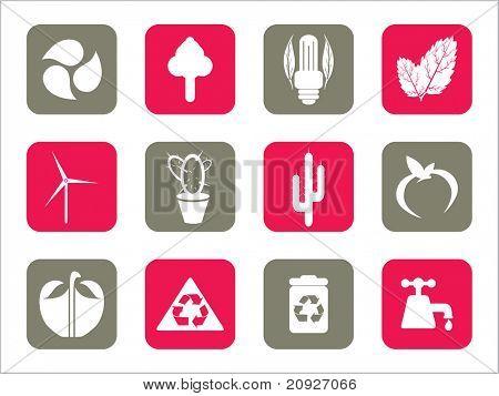 Darstellung der Web-Icons mit Hintergrund