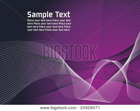 roxo, branco fundo de linhas vetoriais com malha e lugar para texto