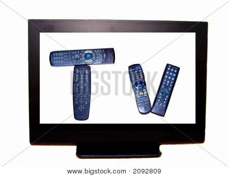 HDTV con control remoto