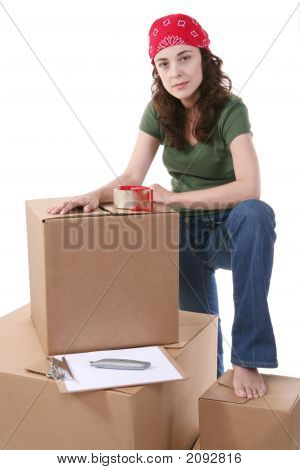 Woman And Cargo