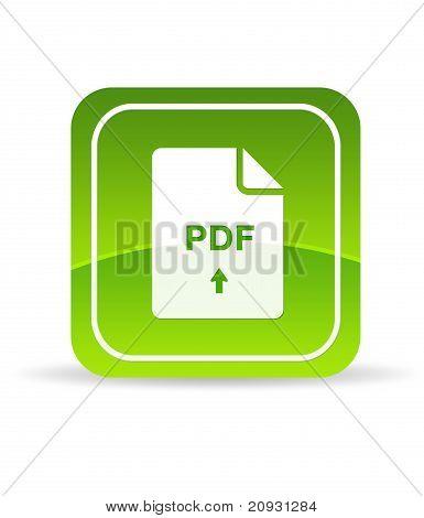 Green Pdf Document Icon