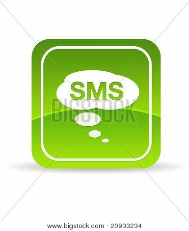 Green Sms Icon