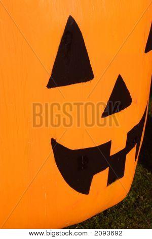 Giant Plastic Pumpkin