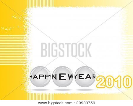 vector illustration of new year wallpaper