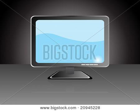 computadora monitor de pantalla plana lcd