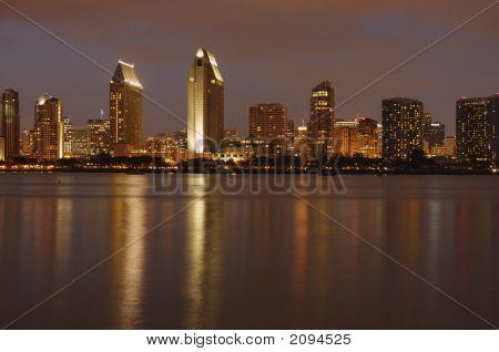 Downtown, San Diego, Dusk