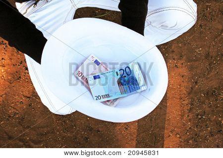 Hat With Money