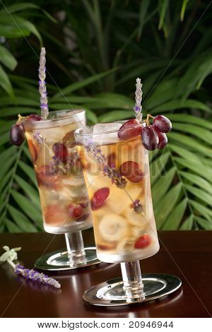 Lavender Grape Iced Tea