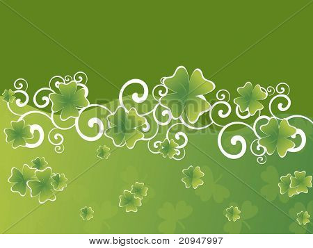beautiful pattern wallpaper for st patrick day