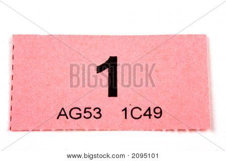 Raffle Ticket Number 1