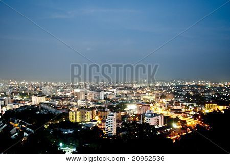 Pattaya Nightscape Viewpoint