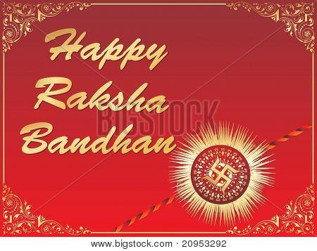vector illustration for raksha bandhan