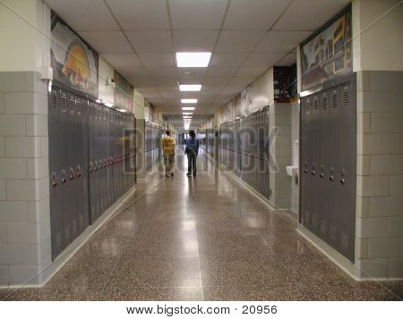High School Hallway2