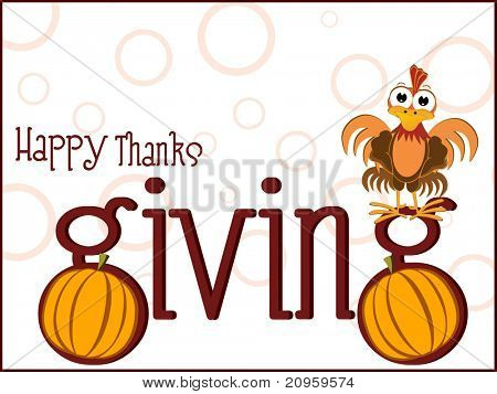 vector illustration for thanksgiving day celebration