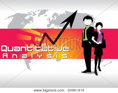 corporate background with business person