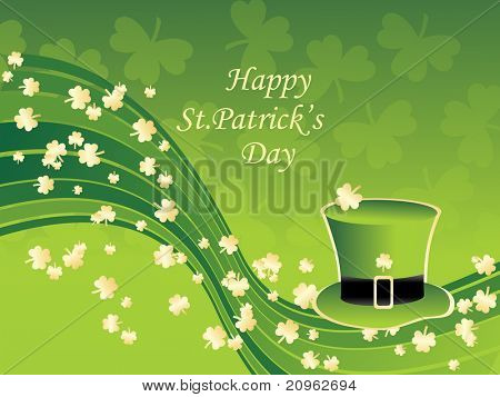 vector illustration for happy st patrick's day