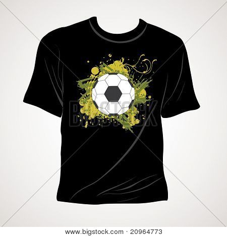 abstract background with isolated tshirt, illustration
