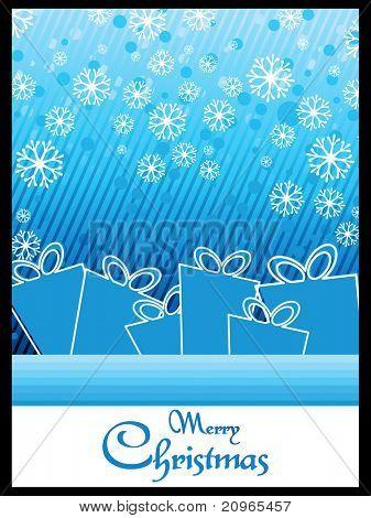 beautiful illustration for merry christmas celebration
