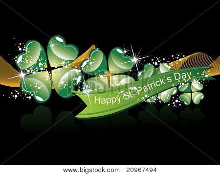 vector illustration for happy st. patrick's day
