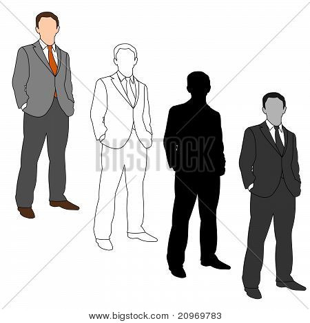 Business Man Style Set