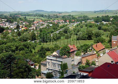 Town Landscape In Poland