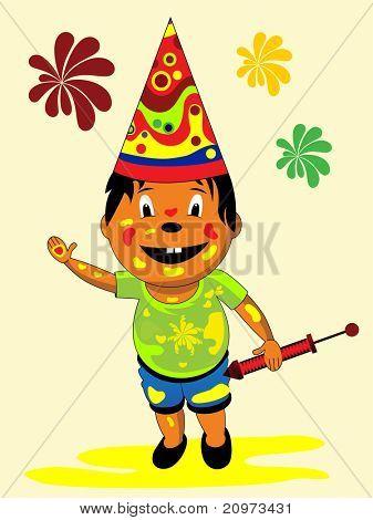 vector illustration for colorful day celebration