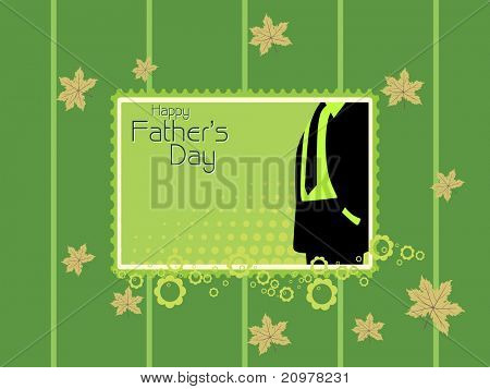 abstract elegant background for father's day celebration