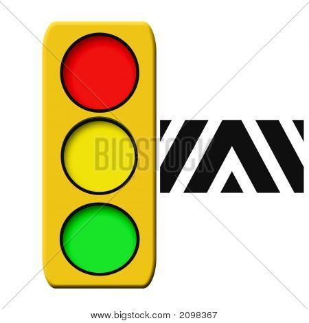 Traffic Light Illustrated