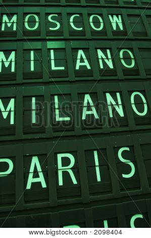 Milano - Paris - Moscow