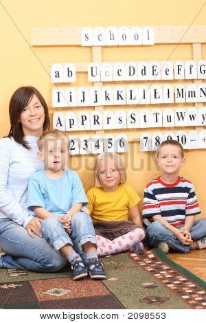 Niños en edad preescolar