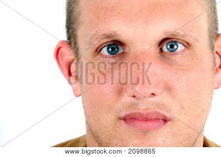 Blue Eyes Confidence