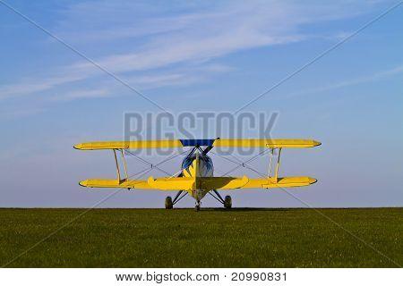 Colourful Biplane
