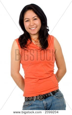Asian Casual Female Portrait