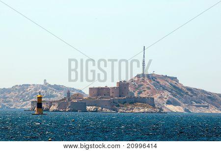 Chateau d'If famous prison