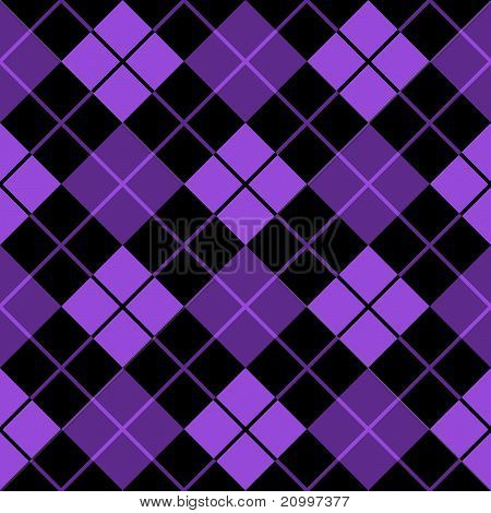 Argyle Purple Seamless Background