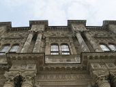 stock photo of constantinople  - Side part of Dolma Bachtche palace in Constantinople - JPG