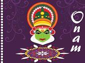 stock photo of pookolam  - kekasih ilustrasi Onam  - JPG