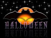 Dark Starry Halloween Background