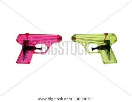 Colorfull Waterguns