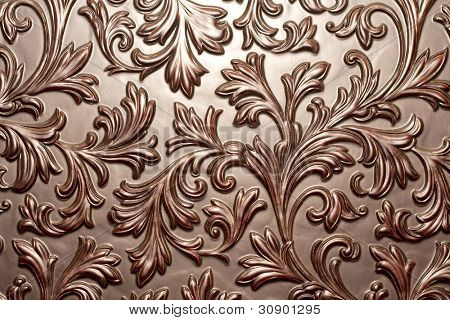 Vintage brown chocolate surface. Background or texture