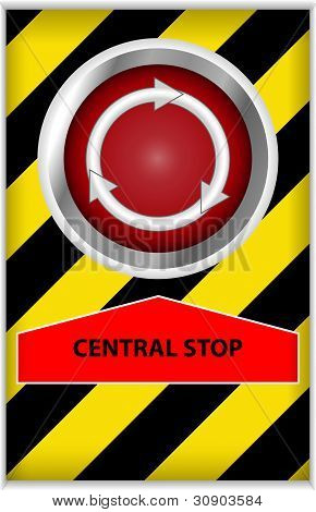 Central Stop Button